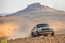 #207 Camporese Roberto (ita), Fiori Umberto (ita), Peugeot, Camporese Fiori, Dakar Classic, action during the 8th stage of the Dakar 2021 between Sakaka and Neom, in Saudi Arabia on January 11, 2021 - Photo Gustavo Epifanio / Fotop