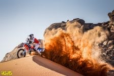 121 Barthelemy Guillaume (fra), KTM, Team RS Concept, Moto, Bike, action during the 2nd stage of the Dakar 2021 between Bisha and Wadi Al Dawasir, in Saudi Arabia on January 4, 2021 - Photo Frederic Le Floc'h / DPPI