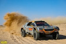 GCK e-Blast 1 during the 9th stage of the Dakar 2021 between Neom and Neom, in Saudi Arabia on January 12, 2021 - Photo Julien Delfosse / DPPI