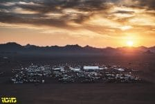 Bivouac during the 10th stage of the Dakar 2021 between Neom and Al-Ula, in Saudi Arabia on January 13, 2021 - Photo Charly Lopez