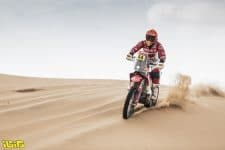 44 Sanz Laia (esp), Gas Gas, Gas Gas Factory Team, Moto, Bike, action during the 11th stage of the Dakar 2021 between Al-'Ula and Yanbu, in Saudi Arabia on January 14, 2021 - Photo Charly Lopez / A.S.O