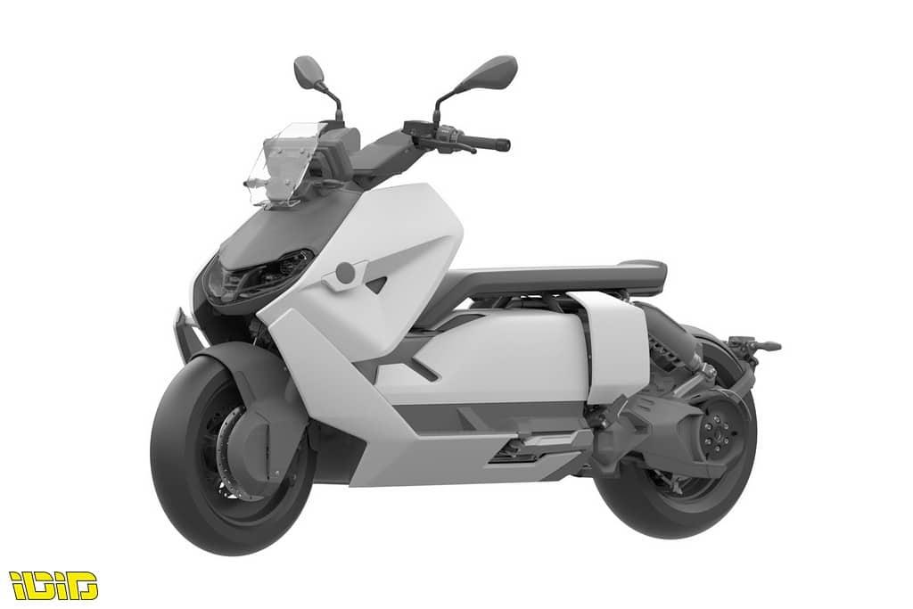 הקטנוע החשמלי ב.מ.וו CE 04 קרוב לייצור
