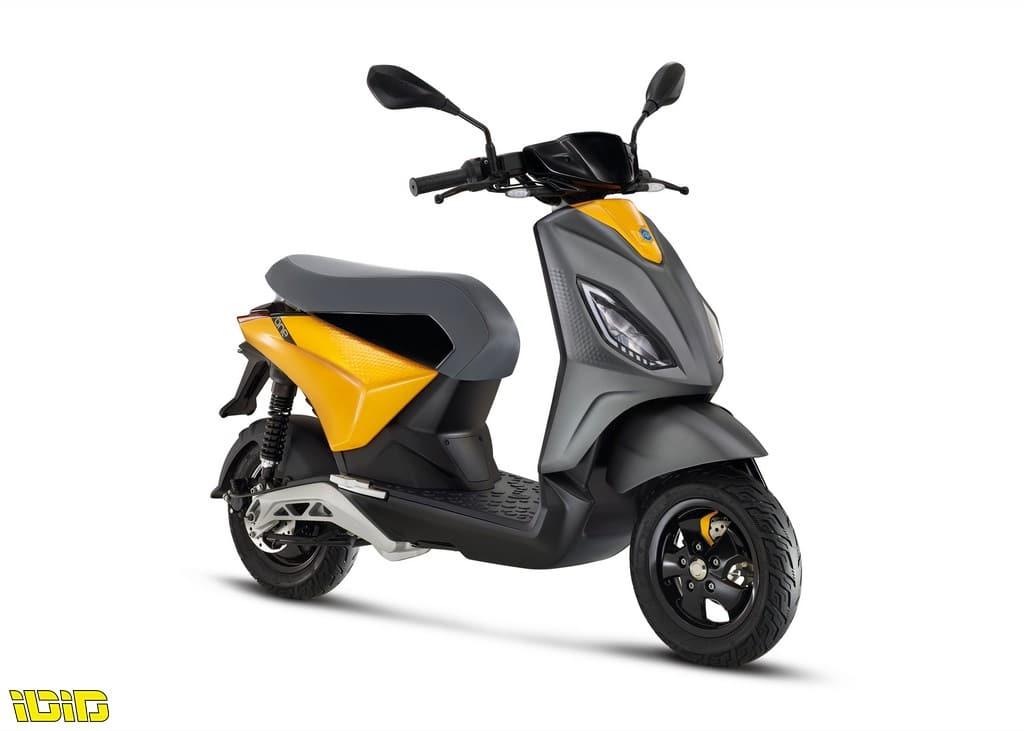 פיאג'ו מציגה את הקטנוע החשמלי One