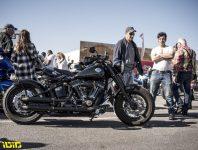 Emek,Hefer,,Israel,-,12.15.2018:,Motorcycle,Show,Harley,Davidson,Side