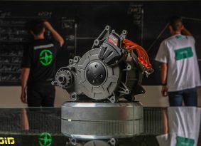 אנרג'יקה מציגה מנוע חשמלי חזק, קל ויעיל יותר