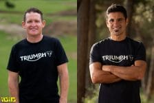 TRIUMPH ANNOUNCE THEIR INTENT TO ENTER THE MOTOCROSS AND ENDURO WORLDS Ricky Carmichael Ivan Cervantes 1